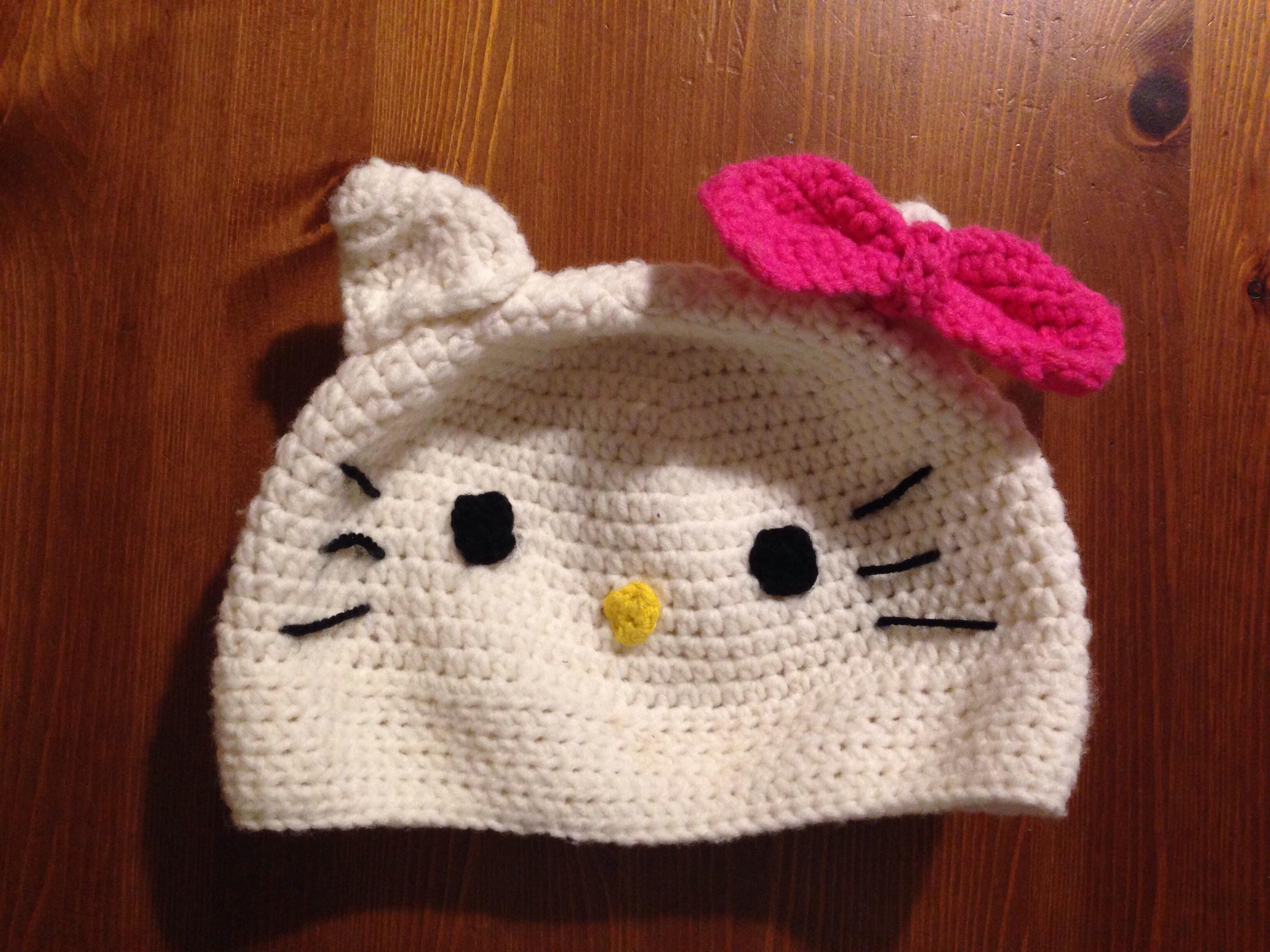 Hello Kitty Mütze Ich Hab Ja Sonst Nix Zu Tun